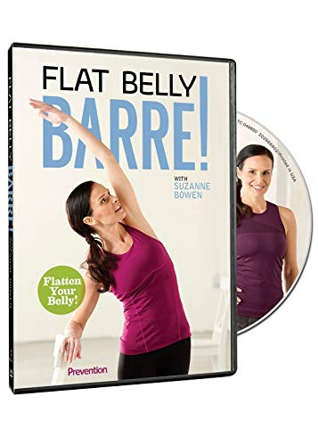 Prevention Flat Belly Barre with Suzanne Bowen: 30-Minute Ballet Inspired Barre Workouts