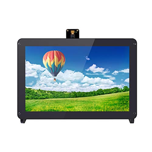 SUNFOUNDER Raspberry Pi 10.1 Inch IPS Monitor HDMI LCD Display for Raspberry Pi 4B 3B+ 3B with Camera Holder Stand