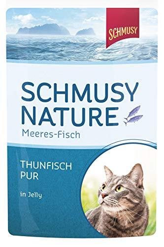 Schmusy Nature Meeres-Fisch Thunfisch Pur 24x100g