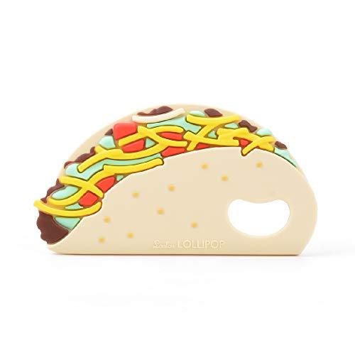 Loulou Lollipop(ルルロリポップ) シリコン歯がため【日本正規品】おしゃぶり おもちゃ タコス LL-T-Taco
