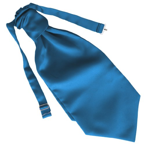 Great British Tie Club Mariage Ruche Cravate - différentes couleurs (Turquoise)