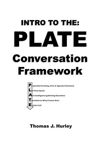 INTRO to the PLATE Conversation Framework (English Edition)