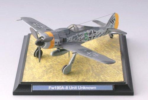 TomyTEC Technique Mix WW03 1/144 Focke sur Loup Fw190A-8 Unité Inconnu (déjà Peint)