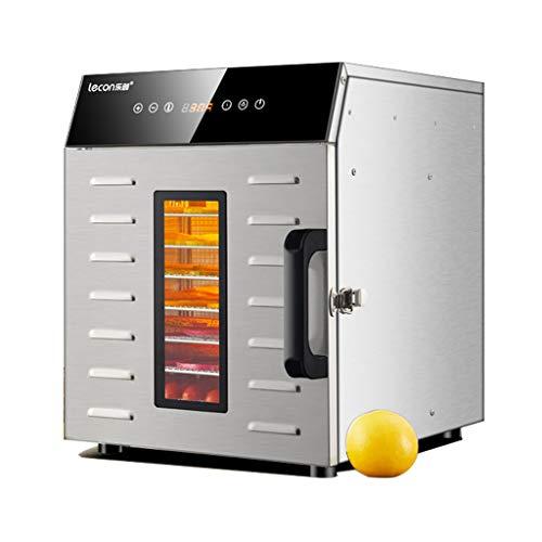 Food dryer WRJ@ Aliments | 8 Plateaux | Température Réglable | Déshydrateur Fruits et légumes, 400 W,