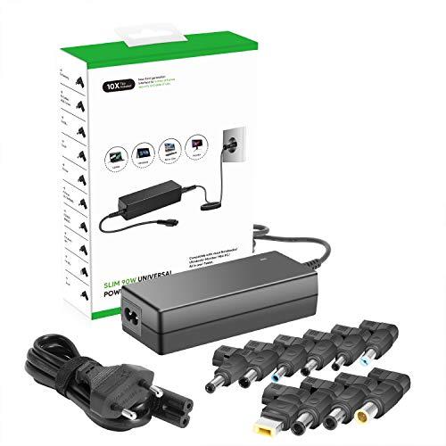 HKY 90W Cargador Universal para Computadora Portátil / Monitor / Altavoz Portátil...
