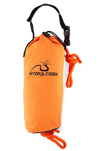 Hydra Creek Rescue Throw Bag, 70 feet, 3/8 inch Rope, Floating,