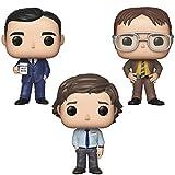 Funko TV: Pop! The Office, Michael, Dwight y Jim