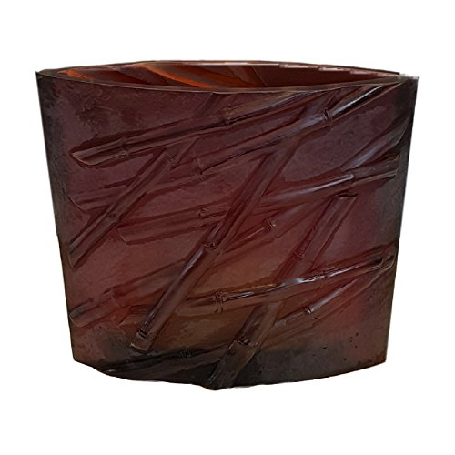 Daum Kristall Bambou Vase