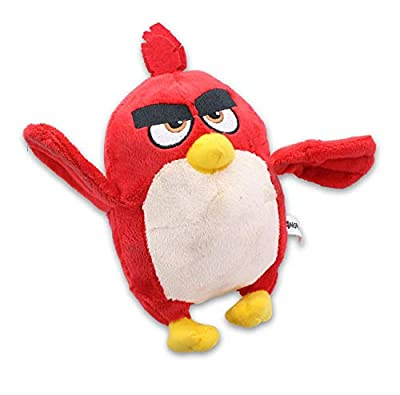 Johnny's Toys Angry Birds 7 Inch Stuffed Character Plush | Red Bird