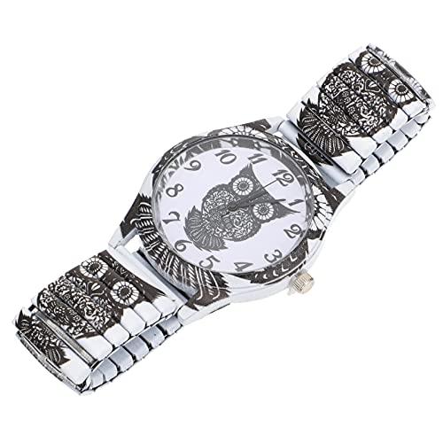 UKCOCO Elegante Reloj de Pulsera de Búhos Reloj de Mujer Elegante Reloj de Mujer