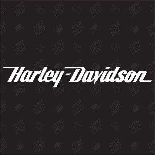 speedwerk-motorwear Motorrad H. Davidson Schriftzug - Sticker