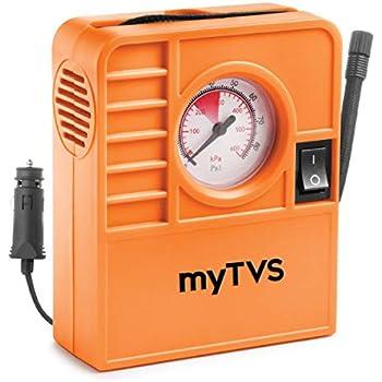 myTVS TI-1 Car Bike 2-in-1 Tyre Inflator 2Yr Warranty