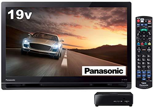 パナソニック 19V型 ポータブル 液晶テレビ プライベート・ビエラ ブラック UN-19F10-K
