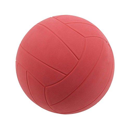 WV Original Fußball/Torball mit Glocken - 500 g - 21 cm - Rot
