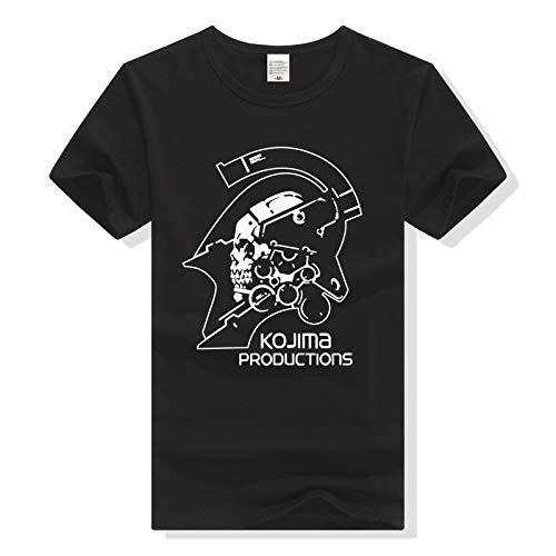 HNOSD Metal Gear Solid T-Shirt Camiseta Hombre Mujer Camiseta TallasGrandesRopa Death Stranding