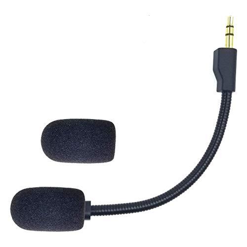 sciuU Boom Mic Mikrofon Kompatibel mit Logitech G Pro/G PRO X 7.1 Gaming-Headset mit Blue Voice, Flexibel Noise Cancelling Mikrofon Geräuschunterdrückung mit Schaumstoffabdeckung