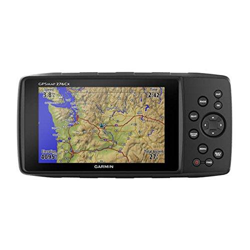 GPS GPSMAP 276Cx, GPS con mapa de rutas de ocio de Europa, 191.5 x 94.5 x 44.0 mm