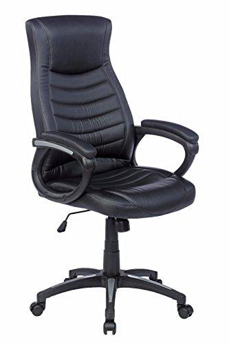 MJC Chefsessel Montreal, Drehstuhl, Bürostuhl, Sessel, Schreibtischstuhl, schwarz