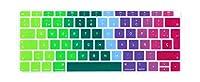 for Macbook air 13 A1932 EUキーボードカバー用スペインチリラップトップキーボードカバーカラー保護フィルムディスプレイスペイン語-MULTI-