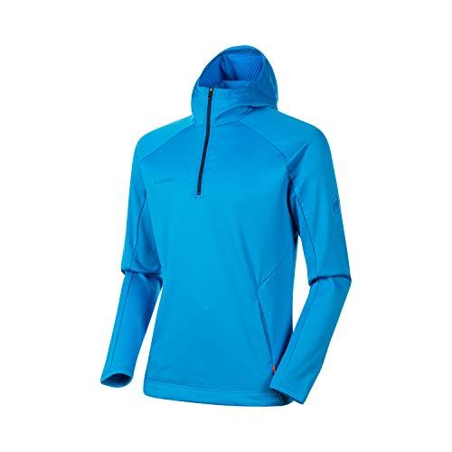Mammut Herren Midlayer Pullover Mit Kapuze Runbold Hoody, blau, S