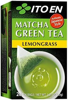 Ito En Lemongrass Matcha Green Tea 20 Tea Bags 1 05 oz Box Single Pack product image