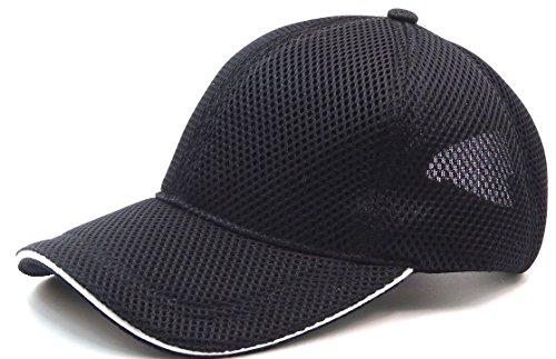 [京都 おかげさまで] 大きい帽子 スポーツ エアーメッシュ キャップ 大きいサイズ ビッグサイズ 野球帽 最大 65CM 無地