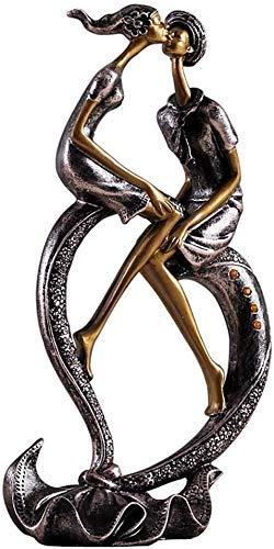 YYhkeby AK-Hauptdekoration Ornamente Skulptur Heart-Shaped Paar Hochzeit Geschenk Dekoration kreative Wohnaccessoires Wohnzimmer Crafts Schlafzimmer Kleine Möbel Geschenk Jialele