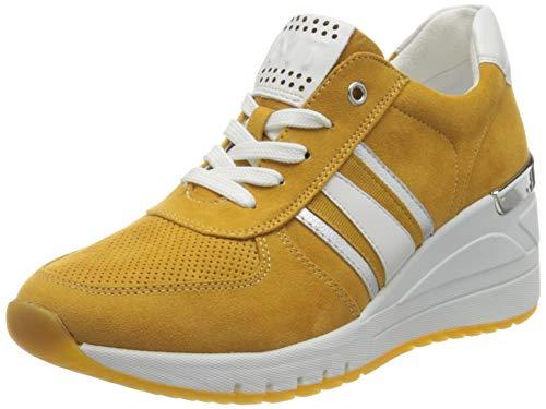 MARCO TOZZI 2-2-23746-26 Sneaker, Zapatillas Mujer, Saffron Comb, 38 EU