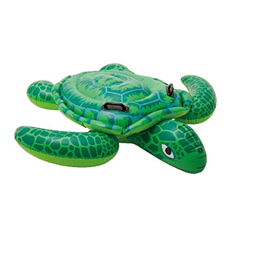 Intex Lil' Sea Turtle Ride-On - Aufblasbarer Reittier - 150 x 127 cm
