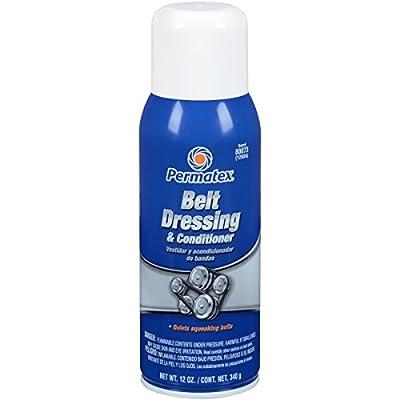 Permatex 80073 Belt Dressing and Conditioner, 12 oz. net Aerosol Can