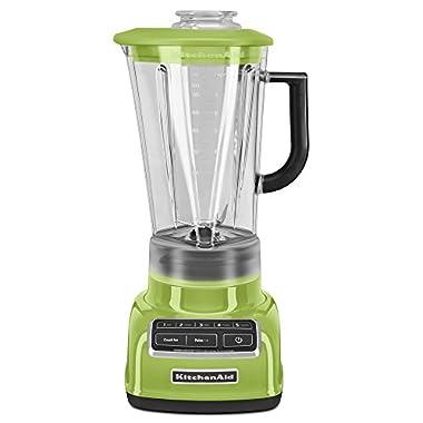 KitchenAid KSB1575GA 5-Speed Diamond Blender with 60-Ounce BPA-Free Pitcher - Green Apple