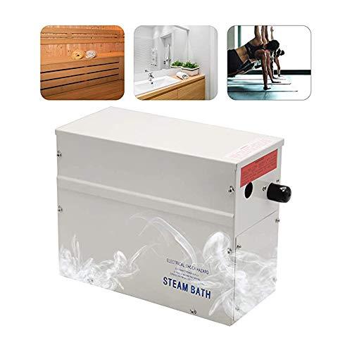 Hanchen 3KW Sauna dampfgeneratoren Dampfgenerator Bad 35-55 °C Dusche Badezimmer Dampferzeuger Dampfgarer für zu Hause Schwimmbad innerhalb 3m³ 1-12h 220V CE