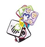 Fisher-Price Mis primeras fichas de Aprendizaje, Juguete de Actividades para bebé recién Nacido (Mattel GFX90)