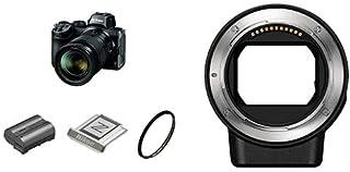【FTZマウントアダプターセット】 Nikon ミラーレス一眼カメラ Z5 限定キット NIKKOR Z 24-70mm f/4付属 Z5LK24-70限定セット ブラック + Nikon マウントアダプターFTZ Zマウント用 Fマウント用