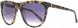 French Connection Womens Premium D Frame Sunglasses - Black/Brown