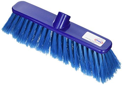 Bunzl P04047 Bezem kop, zacht, 30 cm, blauw