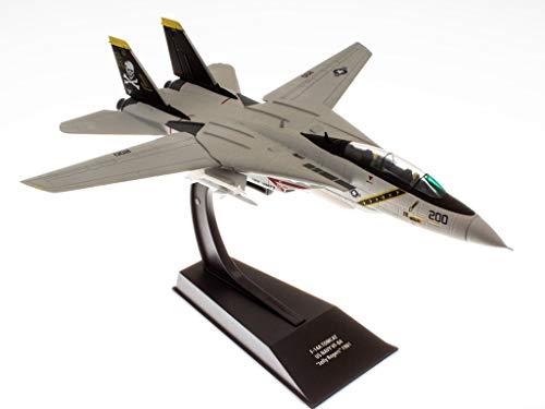 - Militärisches Kampfflugzeug 1/100 F-14A Tomcat US Navy VF-84 1981 aus dem Film TOP Gun (CP01A)
