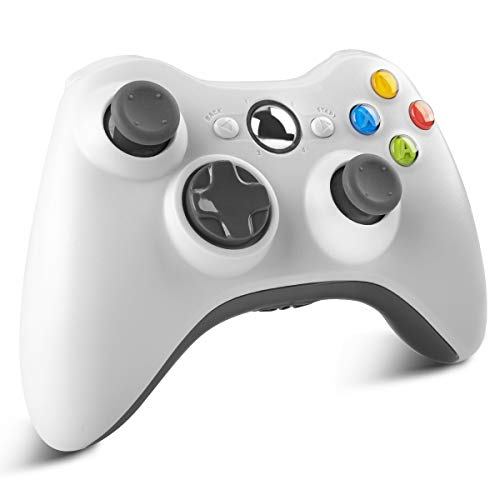 YCCTEAM - Mando inalámbrico para Xbox 360 con doble vibración Controlador de juego para Xbox 360/360 Slim System y PC Win 7/8/10