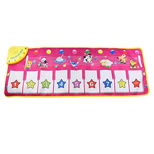 Renquen Muziek Tapijt Mat Dier Deken Kinderen Muzikale Matten Baby Piano Matten Touch Speel Spel Dans Baby Vroeg Onderwijs Playmat Speelgoed voor Kinderen