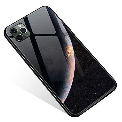 Planetary Surface 4 Pattern Design Shockproof Non-Slip Case Minimalist & Stylish Dual Layer Case for Apple Compatible with iPhone 11 Pro