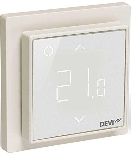 Devireg Smart Reinweiß - Thermostat für Fußbodenheizung mit WLAN-Anbindung