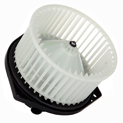 cciyu HVAC Heater Blower Motor with Wheel Fan Cage 27220-2Y910 Air Conditioning AC Blower Motor fit for 2002-2004 Infiniti I35 /2000-2003 Maxima /2003-2006 Baja