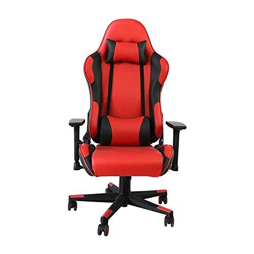 JF-XUAN Startseite Gaming Chair Computer-Racing-Art-Leder Bürostuhl Heavy Duty Dreh High Back Chair Home Office Möbel