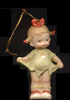 """MEMORIES OF YESTERDAY FIFTH ANNIVERSARY HANGING ORNAMENT """"MOMMY I TEARED IT"""""""