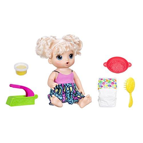 Boneca Baby Alive Adoro Macarrão, Hasbro , Loira