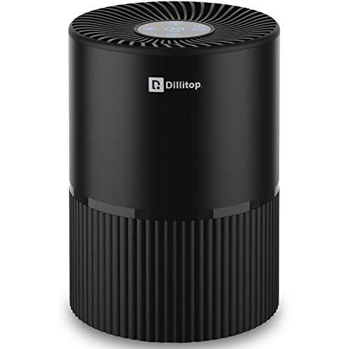 Tragbare Luftreiniger, USB Negativ Ionen luftwäscher mit Nachtlicht und Timer, 99,99{093910e179ce0e8cc887d9cdbe3dc661fe2aafdce2ed19d5b020b0051f8b1ae9} Filterleistung HEPA Aktivkohlefilter, Entfernt Pollen, Rauch, Gerüche usw, Ideal für Allergiker, Asthma, Raucher