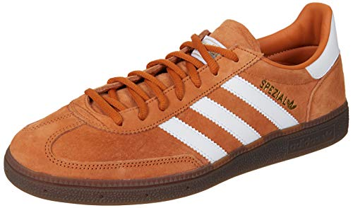 adidas Herren Handball Spezial Sneaker, Braun (Tech Copper/FTWR White/Gold Met 10013971), 44 2/3 EU