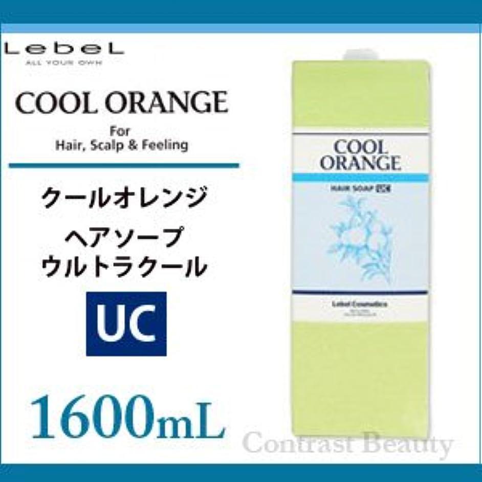 二度仮説シガレット【X5個セット】 ルベル クールオレンジ ヘアソープ ウルトラクール 1600ml
