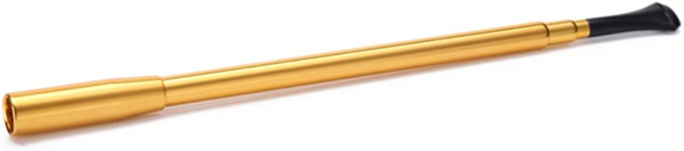 Utopiat Audrey Style Vintage Extendable Cigarette Holder in Gold Inspired by BAT's
