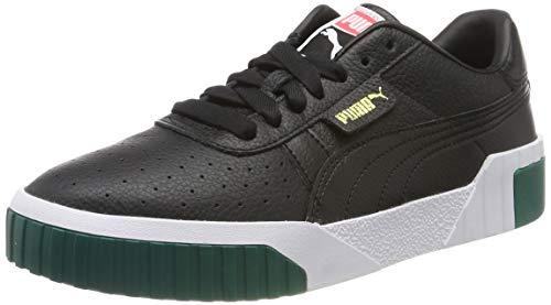 Puma Damen Cali WN's Sneaker, Black-Teal Green, 39 EU